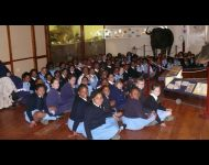 KHS grade 3 learners during a Huberta lesson on the 06 August 2012